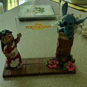 Disney Parks Lilo & Stitch Polynesian Resort Frame